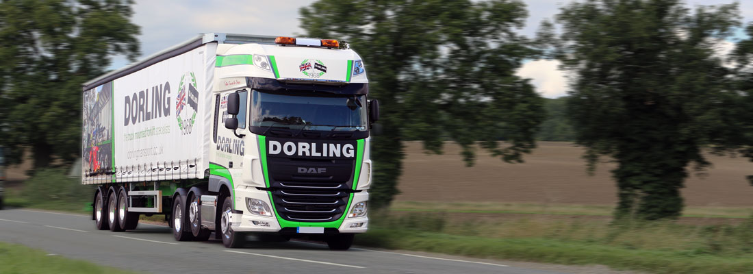 Photo of Dorling Urgent Haulage truck in motion